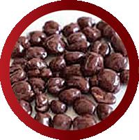 クレープトッピングの麦チョコ