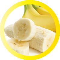 クレープトッピングのバナナ